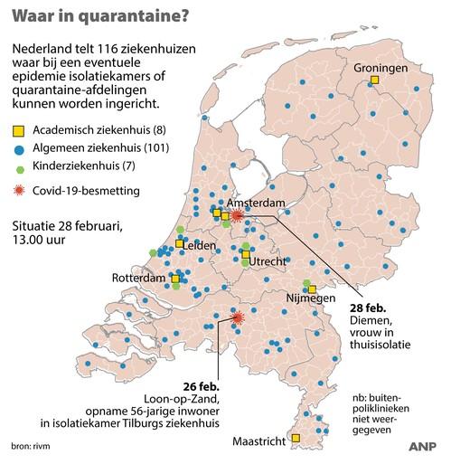 Tweede coronapatiënt werkt bij Amsterdam UMC