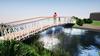Snelle aanleg van 'schoolbrug' bij Laansloot