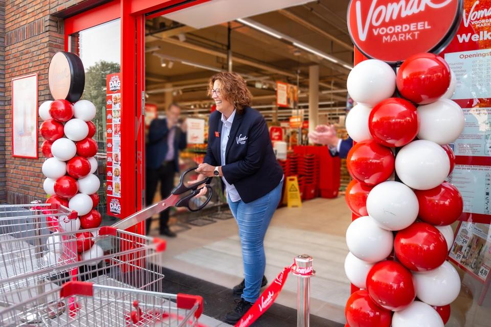 Vomar opende een winkel in Zuid-Scharwoude.
