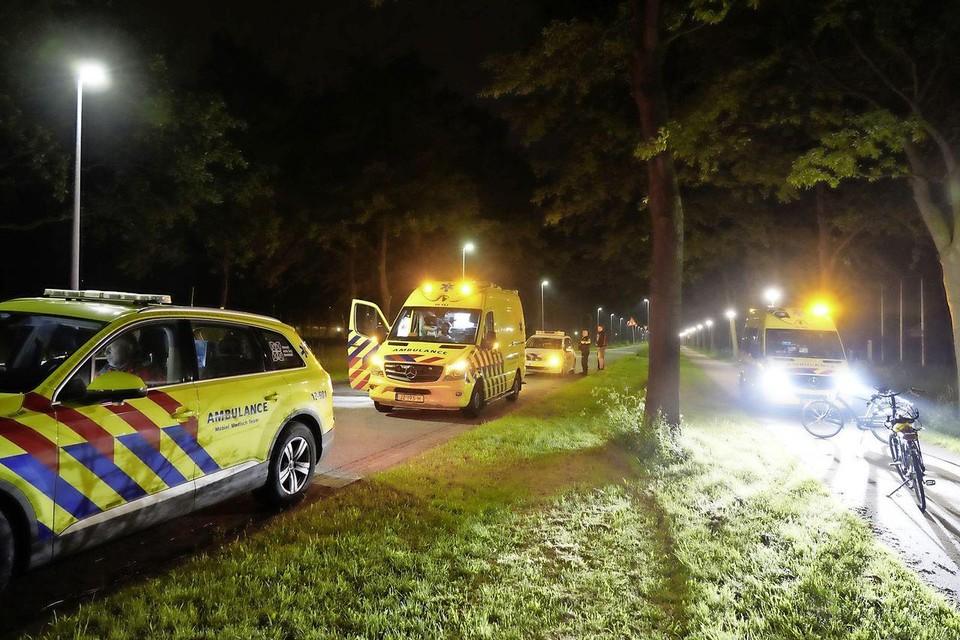 Een medisch team moest uit Amsterdam komen om hulp te verlenen aan het slachtoffer.