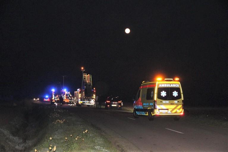 Automobilist omgekomen bij crash op Texel