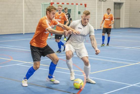 Zeemacht en Texel voldoen aan verwachting in eerste divisie zaalvoetbal