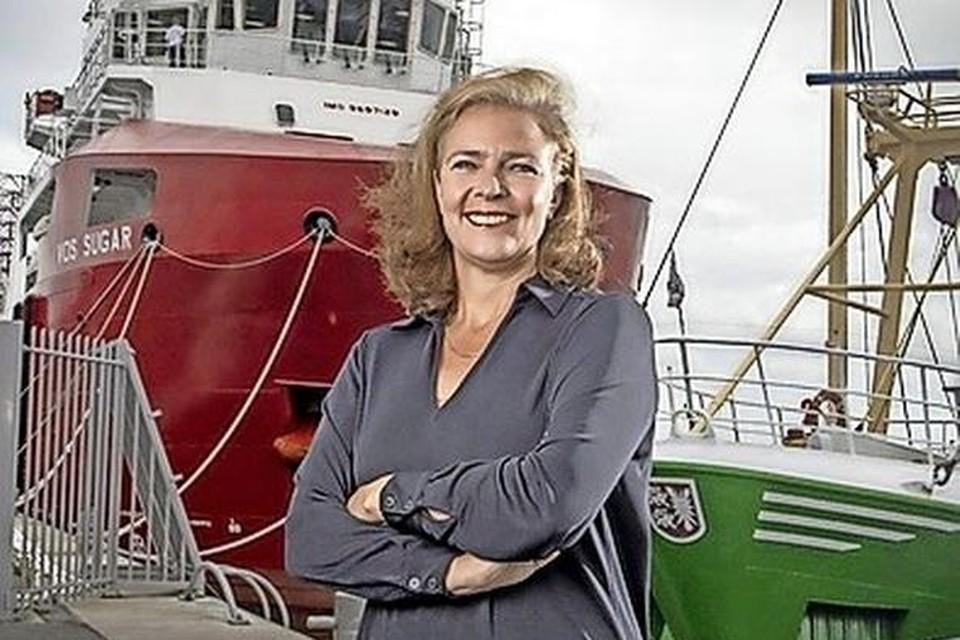 Directeur Jacoba Bolderheij van Port of Den Helder heeft dringend geld nodig voor een aantal projecten.