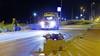 Zwaargewonde bij ongeval met scooter op Boulevard Barnaart in Zandvoort, traumahelikopter ter plaatse