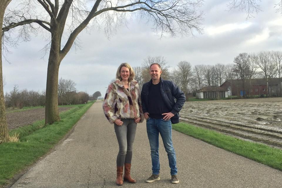 Marbel de Graaf en Henk Geerligs van de LTO Noord-afdeling Hollands Kroon hebben een enquête online gezet over het gebiedsplan Wieringermeer.