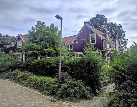 Deel van de De Bazelhuisjes in Bussum blijft behouden
