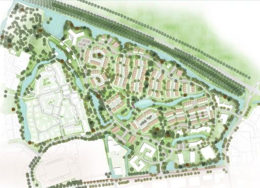 Nieuw bouwplan voorziet in 340 woningen in Kwadijkerpark Purmerend