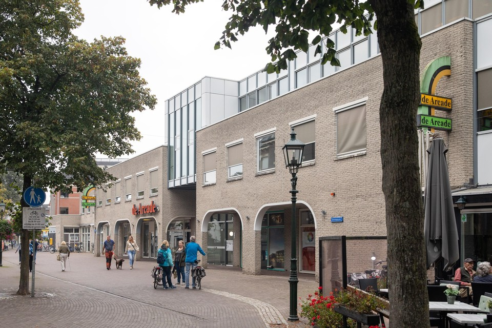 De Arcade midden in het centrum van Baarn is verkocht aan projectontwikkelaar SVE Group.