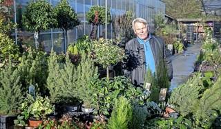 'Ik word gewoon even weggepoetst', zegt Henk Haan, die vreest voor het voortbestaan van zijn tuincentrum