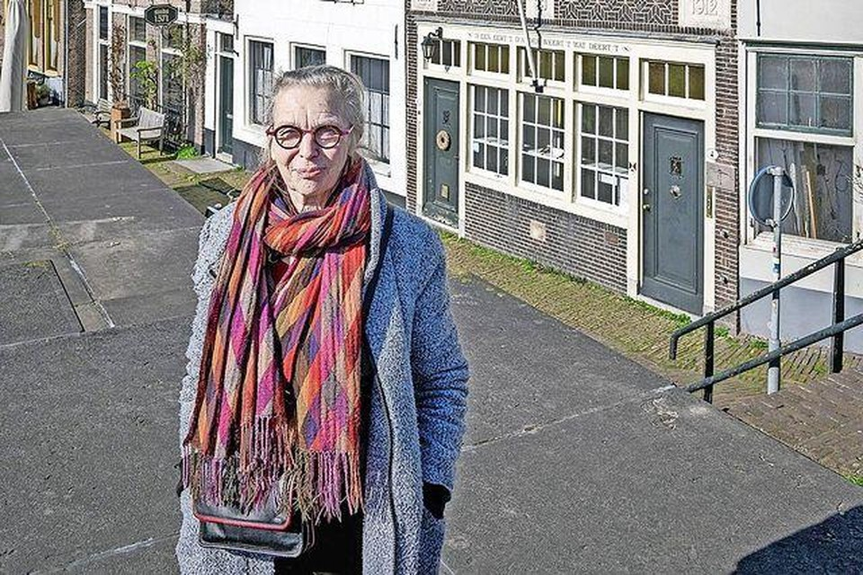 Johanna van Steen is blij dat het kunstcentrum aan de Westkolk kan blijven.