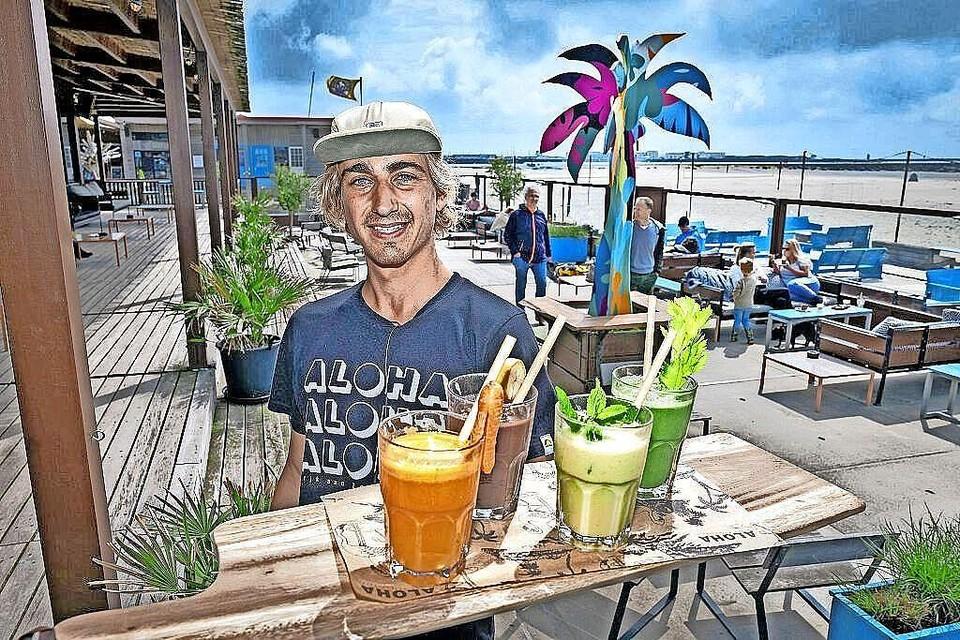 Bij strandtent Aloha was het overstappen naar plasticvrij een kleine stap.