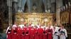 De Martinus Cantorij uit Zwaag heeft een bezoek aan Engeland moeten afzeggen, maar zingt door, graag met versterking van enkele tenoren
