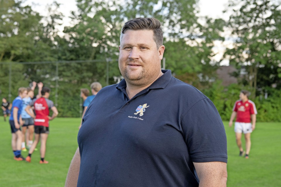 Gareth Gilbert voelt zich thuis bij 't Gooi: ,,De ultieme familieclub, met geweldige mensen, mooie tradities en normen en waarden.''