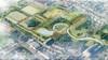 Nieuwe vijver en meanderende waterpartijen in Beverwijkse park Overbos: er is meer ruimte om te vissen