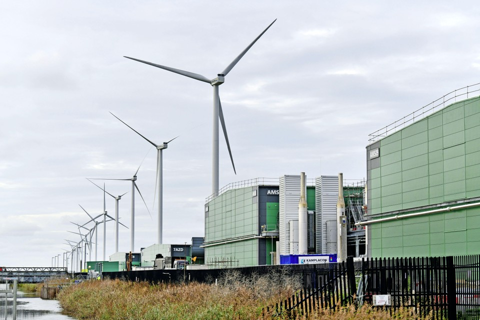 Het Microsoft datacenter in Middenmeer.