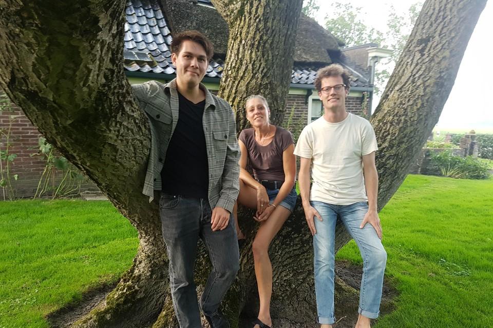 Als het aan Lars Boon, Esther de Best en Tim Grootes ligt (v.l.n.r.), wordt hun festival een succes.