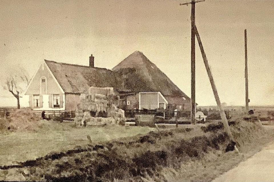 De Texelse stolp in de eerste helft van de vorige eeuw.
