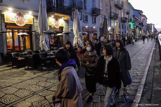 Twee nieuwe coronadoden in Italië