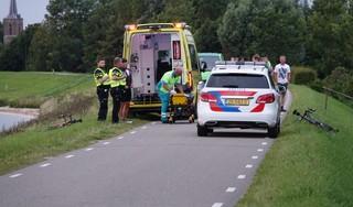 Politie achterhaalt auto doorrijder na ongeval met wielrenner in Schellinkhout