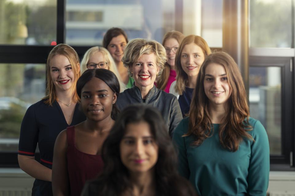 """Elske Doets met de Young Ladies: ,,Die hebben mij echt wakker geschud""""."""