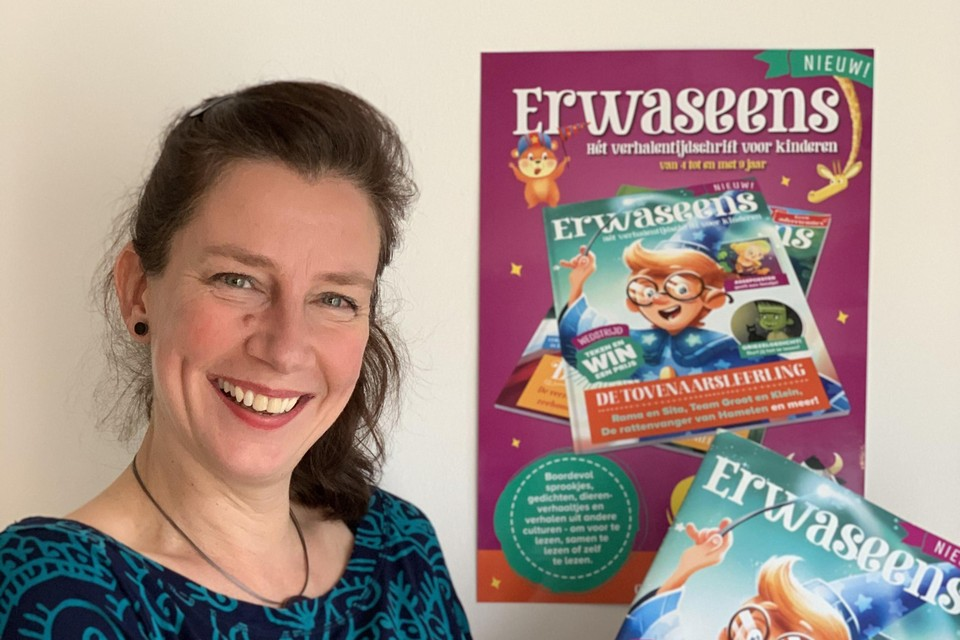 Kinderboeken- en tijdschriftenmaker Rikky Schrever.