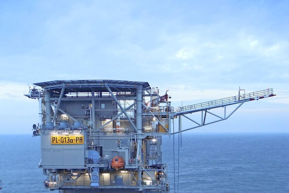 Het platform van Neptune Energy gaat straks ook waterstof leveren.