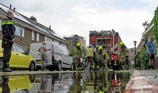 Meldkamer kreeg 450 meldingen van wateroverlast; de meesten uit Noord-Holland Noord