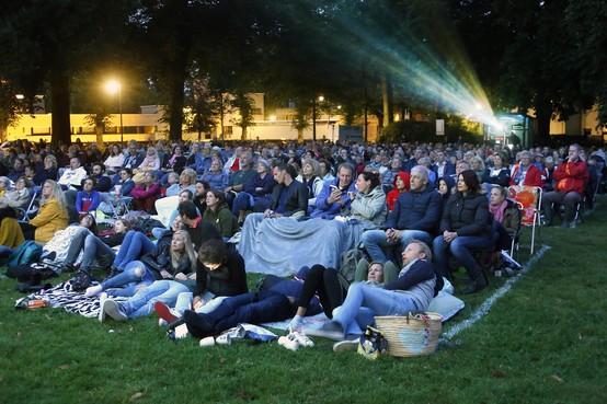 Lekker op zaterdagavond naar een feelgood film kijken in het Dudokpark