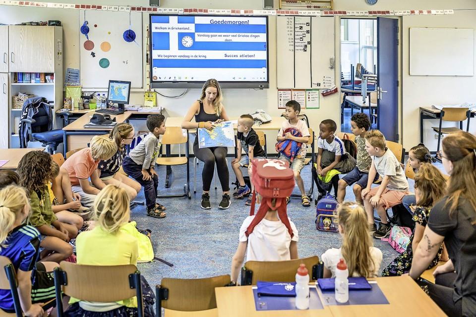 Ruim vijfhonderd basisschoolkinderen uit de Zaanstreek krijgen drie weken lang extra les