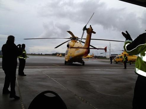 Piloten reddingshelikopter Den Helder leggen het werk neer om conflict met directie, wel noodhulp
