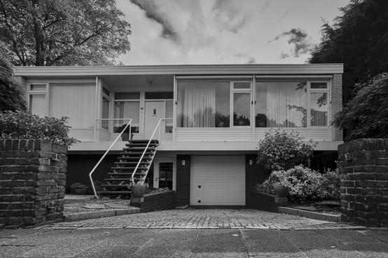 Al zestig jaar opvallende bungalow dankzij 'klare heldere lijnen'