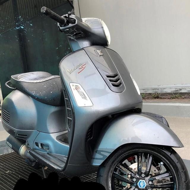Deze foto van een scooter heeft de politie gedeeld.