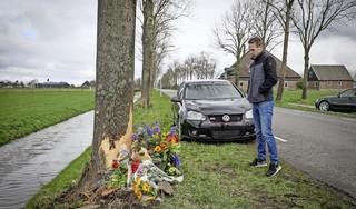 Zeker honderd autofanaten bij Ride Out voor verongelukte Erik Klomp: 'Familie heeft me gevraagd er nu een rem op te zetten'