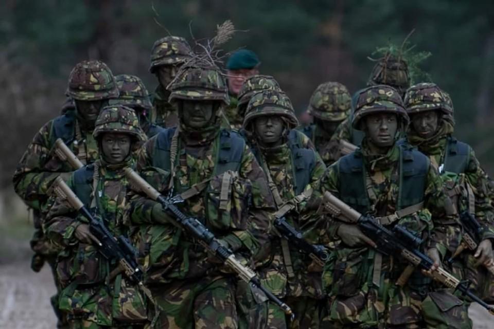 Tijdens 'Operatie Stelling' komen in totaal ongeveer 150 militairen van het Korps Nationale Reserve in actie.