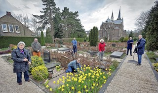 Katholiek Kerkhof Overveen bij 170-jarig bestaan weer tiptop dankzij weldoener en toegewijde vrijwilligers: 'Het ademt hier een positieve, lichte sfeer'