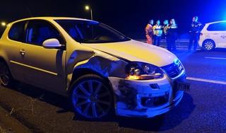 Drie auto's betrokken bij ongeval op A7 tussen Avenhorn en Hoorn