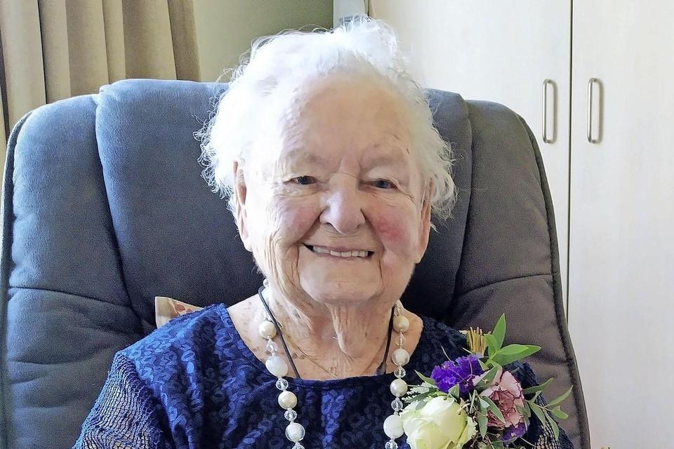 Mevrouw Reijers is met 107 jaar de oudste inwoner van Den Helder.