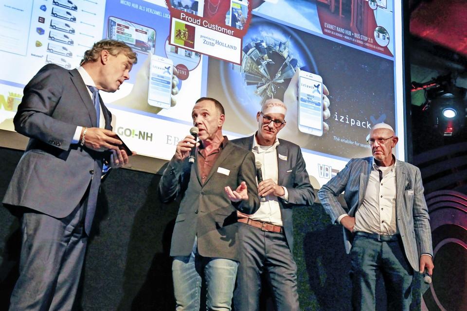 Een Techport-evenement bij 100 jaar staal in de IJmond.