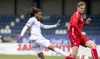 Gretige start van ADO'20: na 4,5 maand zonder wedstrijd worden de profs van Telstar op 0-0 gehouden