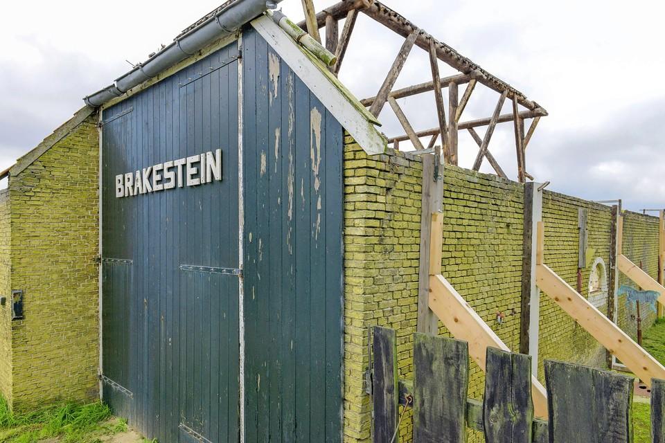 Ook in de stolpschuur bij Brakestein zijn inmiddels recreatieappartementen gebouwd.