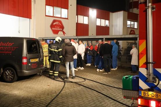 Grote brand in ovens van Graaf Bakkeries in Bunschoten