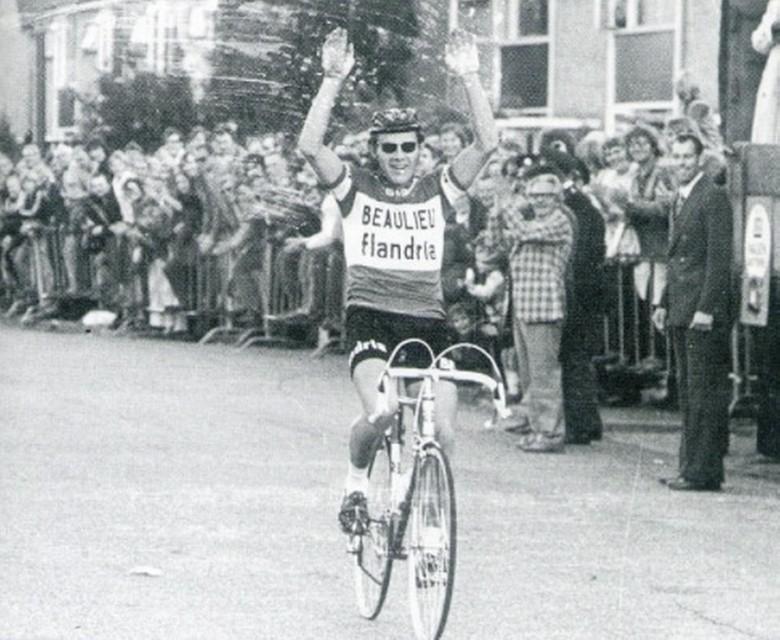 Jan Janssen in 1972, winnaar Ronde van Kortenhoef