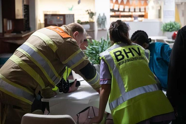 Brand in zorgcentrum Gooiers Erf in Hilversum