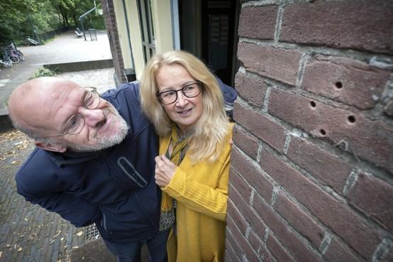 Inbreker houdt huis in Badhuis Leidsebuurt in Haarlem: geen buit, veel schade