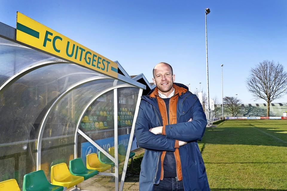 Bart Janssen vond de tijd van FC Uitgeest in de derde klasse eigenlijk het leukste. ,,We speelden veel derby's tegen clubs uit de buurt.''