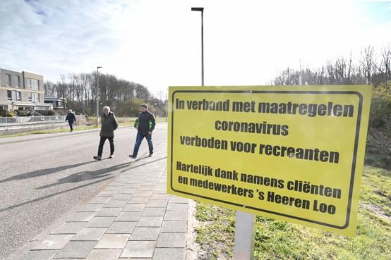 Terrein Noorderhaven in Julianadorp afgesloten voor recreanten na corona-uitbraak