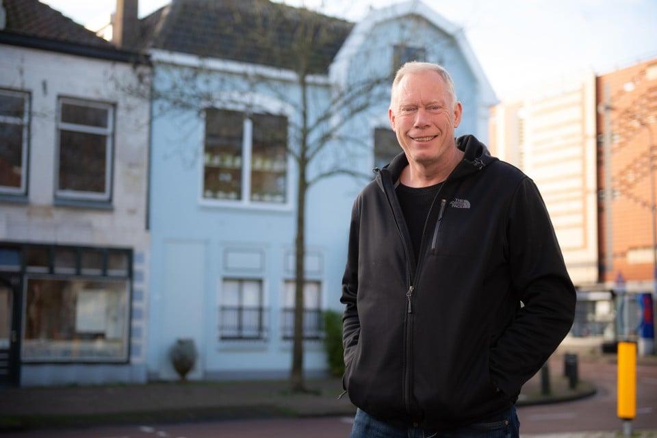 Gert-Jan Schipper in Purmerend, waar zijn kantoor van GJS Interventies zit.