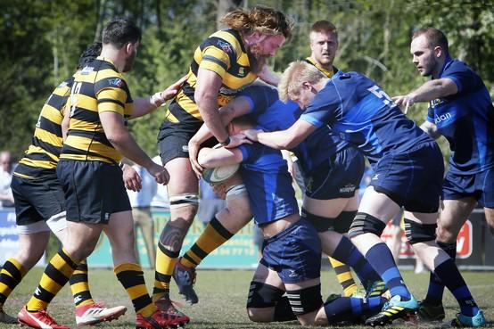 Cas RC 'onder de voet gelopen' door rugbyers van 't Gooi