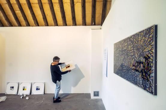 Verbond van beeld en taal bij galerie Schlessart in Bergen