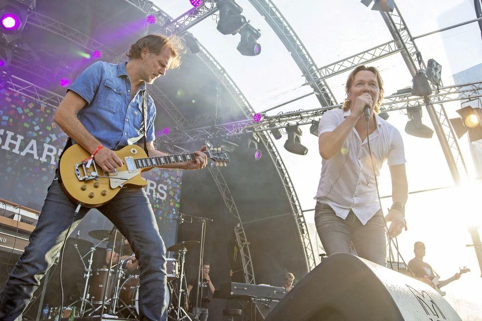 In 2018 trad Van Dik Hout op tijdens het feestweekend Stadshart op Koers.